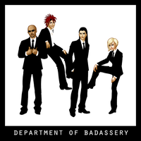 Department of Badassery by bechedor79