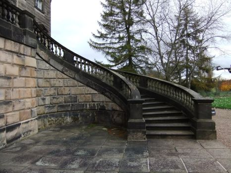 Curving Staircase by fuguestock
