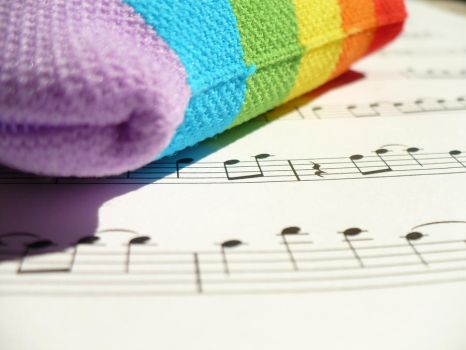 Rainbows and Music 2 by meldel92