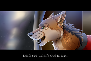 Let's See What's Out There... by Wolphyre