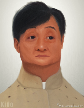Jackie chan Caricature by kido159