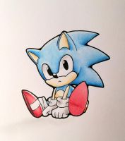 Classic Sonic by Snowsupply