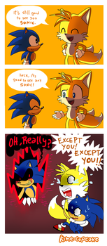Any Sonic by Kime-Cupcake