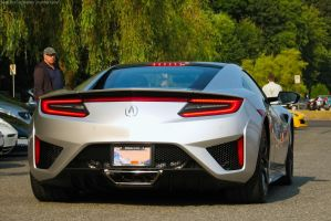 Silver NSX by SeanTheCarSpotter
