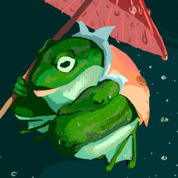 frog weather by whatanonsense