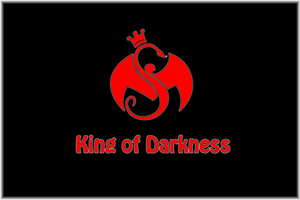 King of Darkness Wallpaper Red on Black by 2barquack