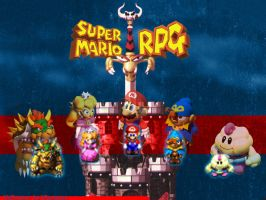 Super Mario RPG Wallpaper by Wispmage