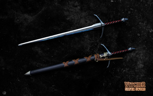 Witcher silver sword #2 by R1EMaNN
