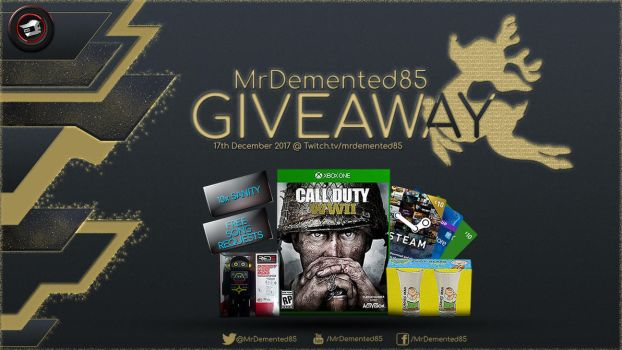 MrDemented's Giveaway 03 by MzDemented