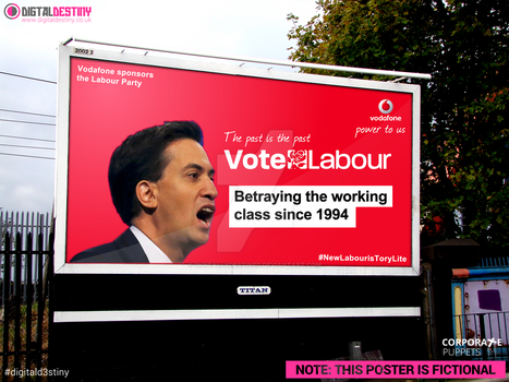 Vodafone - Labour Party 2015 by DigitallyDestined