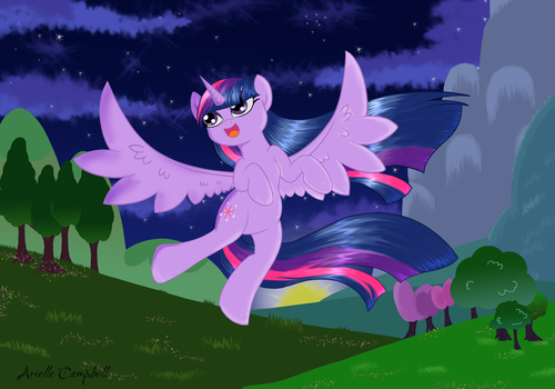 Twilight at twilight or something like that... by MermaidSoupButtons