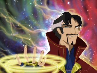 Doctor Strange by Belegilgalad