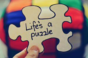 life's a puzzle. by Shutter-Shooter