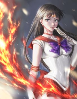 Sailor Mars by Mincelot