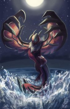 Yveltal Redraw by TheKiwiSlayer