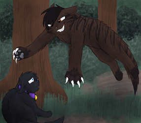Tigerpaw's Attack by CascadingSerenity