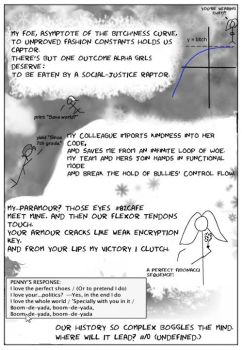 Penny and Aggie, xkcd-Style by alicemacher