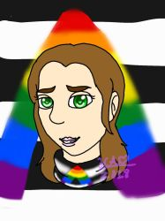 Straight Ally Pride Month #1 by Heart-of-a-Artist