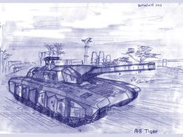 A8 Tiger by TheXHS
