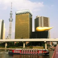 ..Poo Building and Sky Tree.. by koruldia