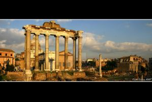 Temple of Saturn Panorama by Keith-Killer