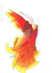 Fire faerie by indigo-psyche