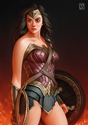 I am Wonder Woman by Husniarsyah