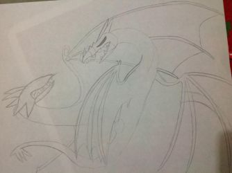 Dragon battle by Angrybird54