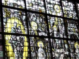 Brialmont - Stained Glass II by Tricia-Danby