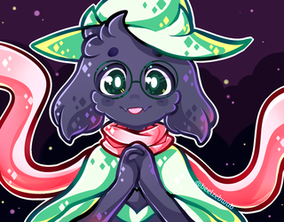 Ralsei by ThePirateDoge