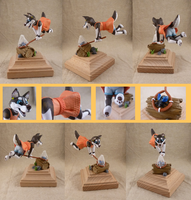 bug-catcher woof (figurine) by CadaverCrafts