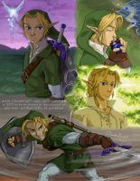 LOZ OOT - Link page - future by CloudsGirl7