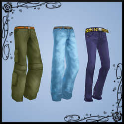 {MMD} Male pants pack DOWNLOAD by Reseliee