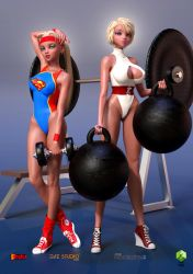 A  Super And  Power...ful Workout by sodacan