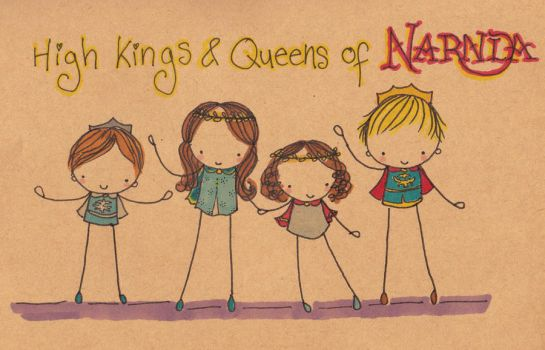 Kings and Queens of Narnia by Pinkie-Perfect