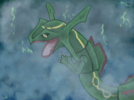 Rayquaza by Zephyrift