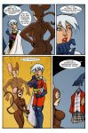Preview page from SORORITY OF POWER issue 4 by argocomics