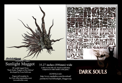 Wearable Sunlight Maggot PDO/PDF by EuTytoAlba