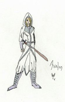 Blood and Bounty Concept Sketch: Avalon by Herokip98