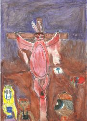 The Death of Easter Rabbit  by Fistron