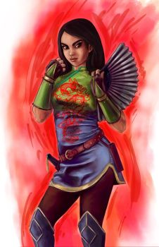 Disney Fighter - Mulan by joshwmc