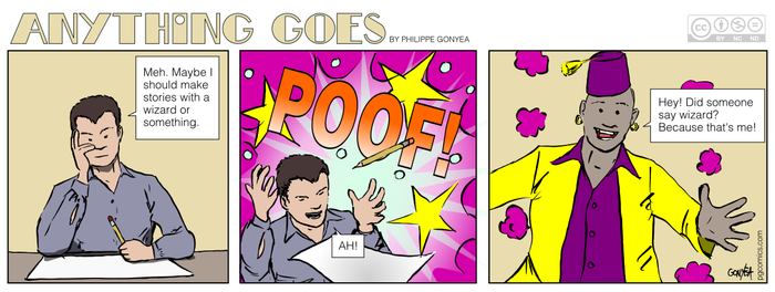 Anything Goes 029 - The Wizard Incident by Quebecman