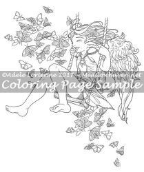 Art of Meadowhaven Coloring Page: Happy Days by Saimain