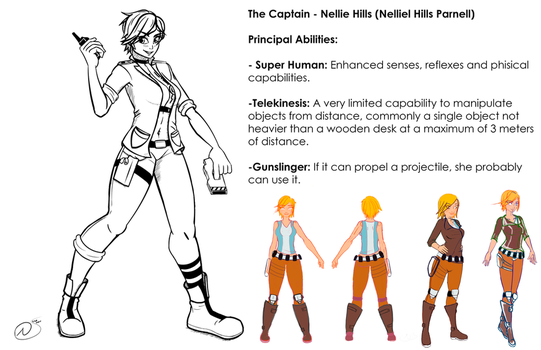 The Captain - Nellie redrawn by FofoSosa