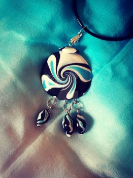 Orca Necklace by Gyemese