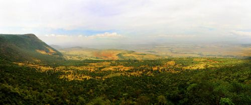Masai Mara Panorama by MissE11aneous