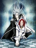 Trinity Blood Color by AvrilDCsDrawings