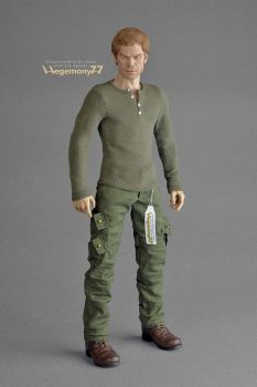 1/ 6 scale Dexter Morgan figure in stalking outfit by Hegemony77