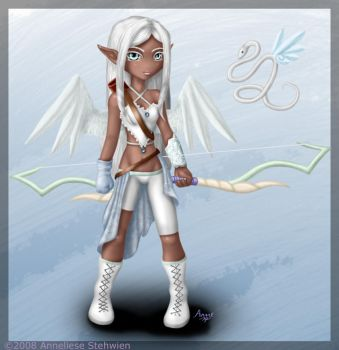Sylphiel Chibified by Calico-Tiger