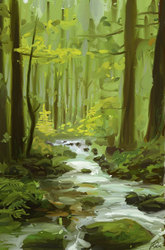 forest photostudy by llRobinll